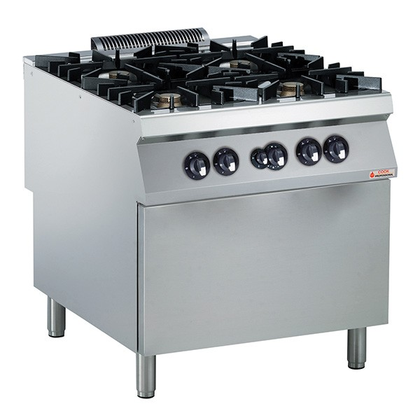 Modular Cooking ECO 90 4-Burner Gas Oven