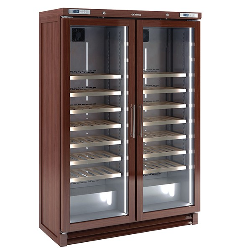 Upright Double Door Wine Cellar (200 bottles)
