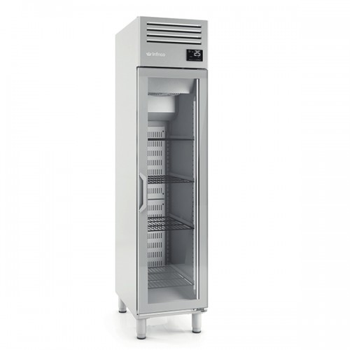 Single Glass Door Gastronorm Refrigerator 325L
