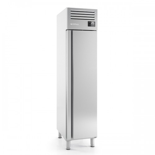 SINGLE DOOR STAINLESS STEEL 1/1 FREEZER 325L