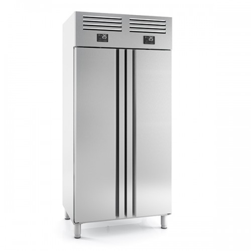 DOUBLE DOOR SS 1/1 FRIDGE FREEZER 325+325L