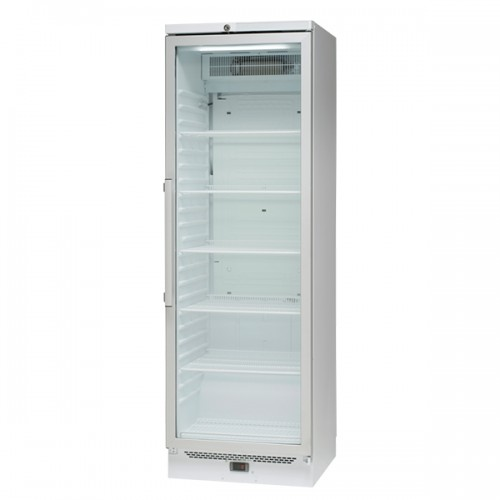 Single Glass Door Pharmacy Refrigerator 381L