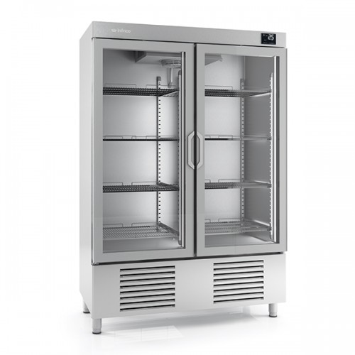 DOUBLE GLASS DOOR FREEZER 1110L