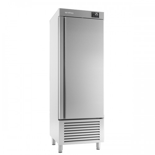 Single door reach in refrigerator 500L