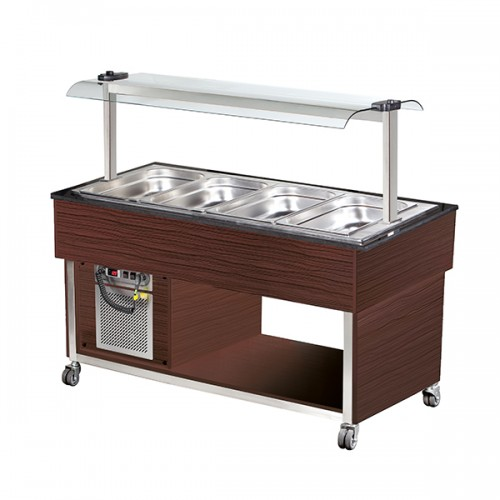 4 x GN1/1 Cold Buffet Display