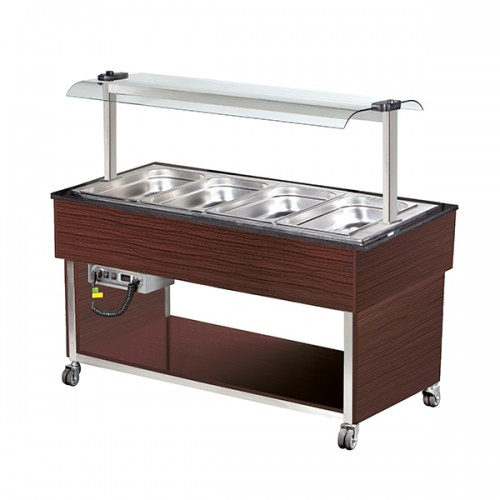 4 x GN1/1 Hot Buffet Display