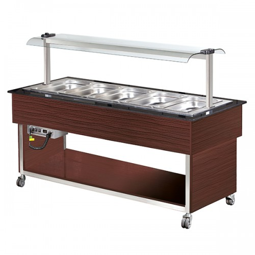 5 x GN1/1 Hot Buffet Display