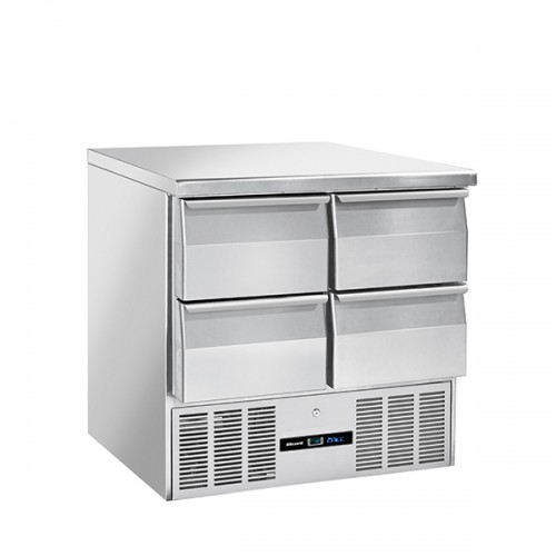 4 Drawer Compact Gastronorm Counter 214L
