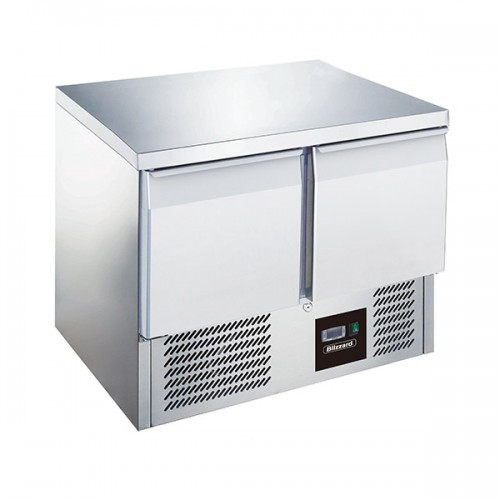 2 Door Compact Gastronorm Counter 240L