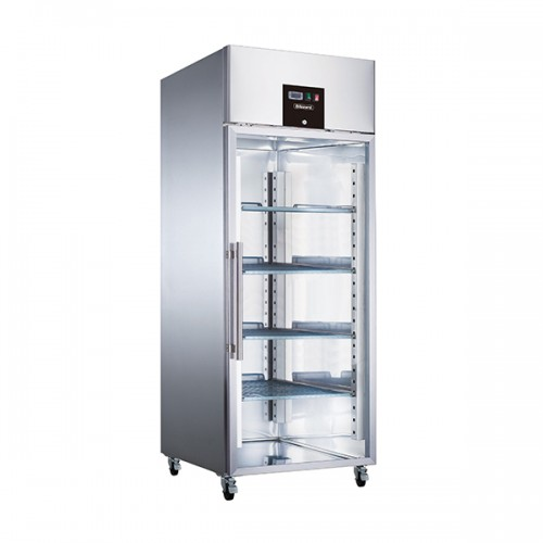 Single Glass Door Ventilated GN Freezer 650L