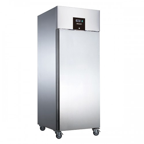 SINGLE DOOR VENTILATED GN2/1 SS FREEZER 650L