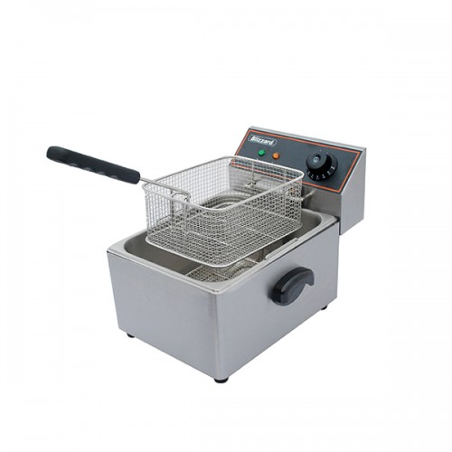 2500W Single Tank Electric Fryer 6L