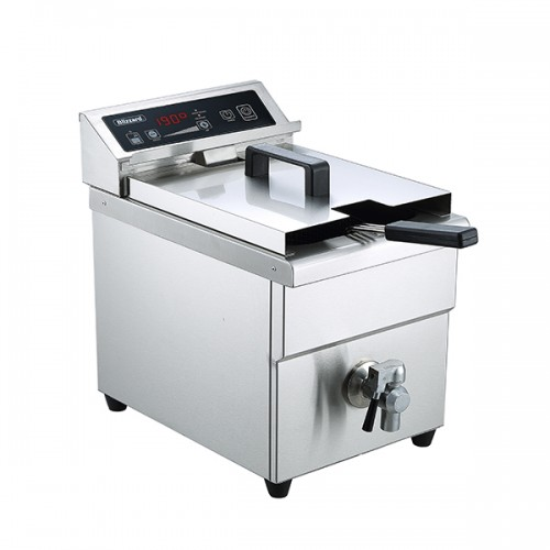 Single Tank Induction Fryer 8L