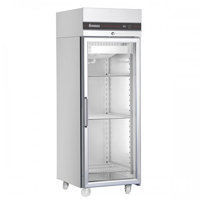 Single Glass Door Heavy Duty 2/1 Refrigerator 654L