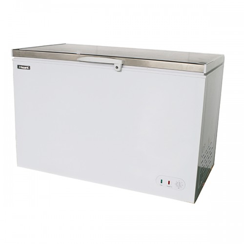Stainless Steel Lid Chest Freezer 450L