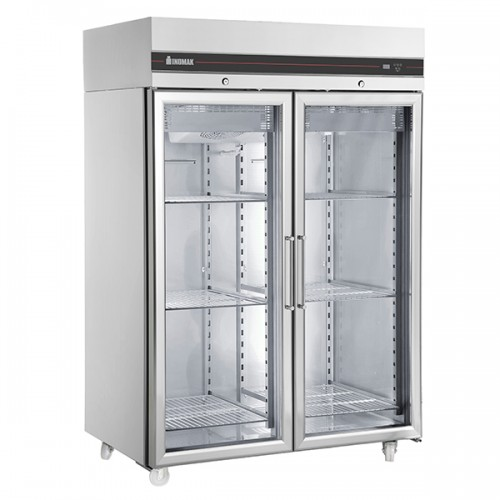 Double Glass Door Heavy Duty 2/1 Freezer 1432L