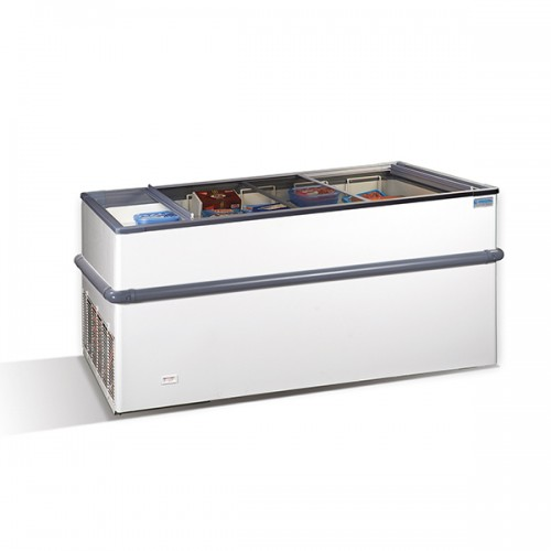 Crystallite Island Display Freezer 600L