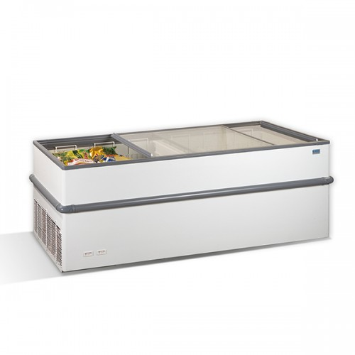 Crystallite Island Display Freezer 797L