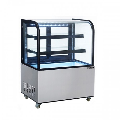 Curved Glass Mobile Display Merchandisers