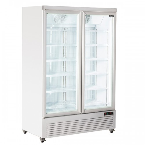 Double Glass Door Freezer Merchandiser 791L