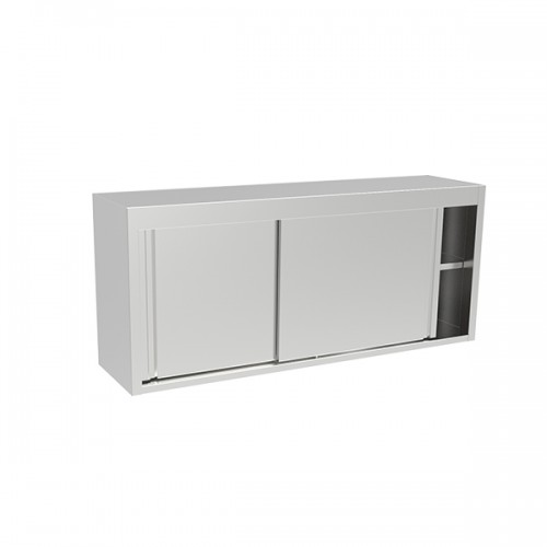 Wall Mounted Storage Cupboard With Sliding Door