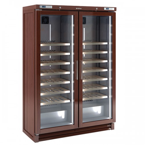 Upright Double Door Wine Cellar (200 bottles)
