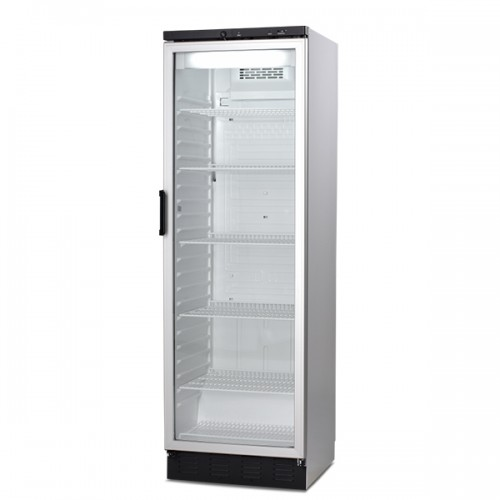 Single Glass Door Refrigerator 381L