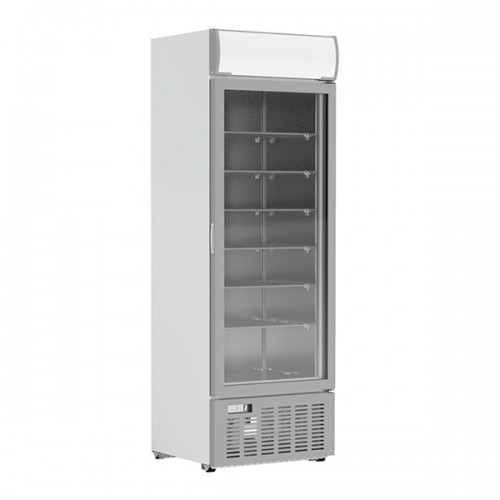 Single Glass Door Freezer Display 416L