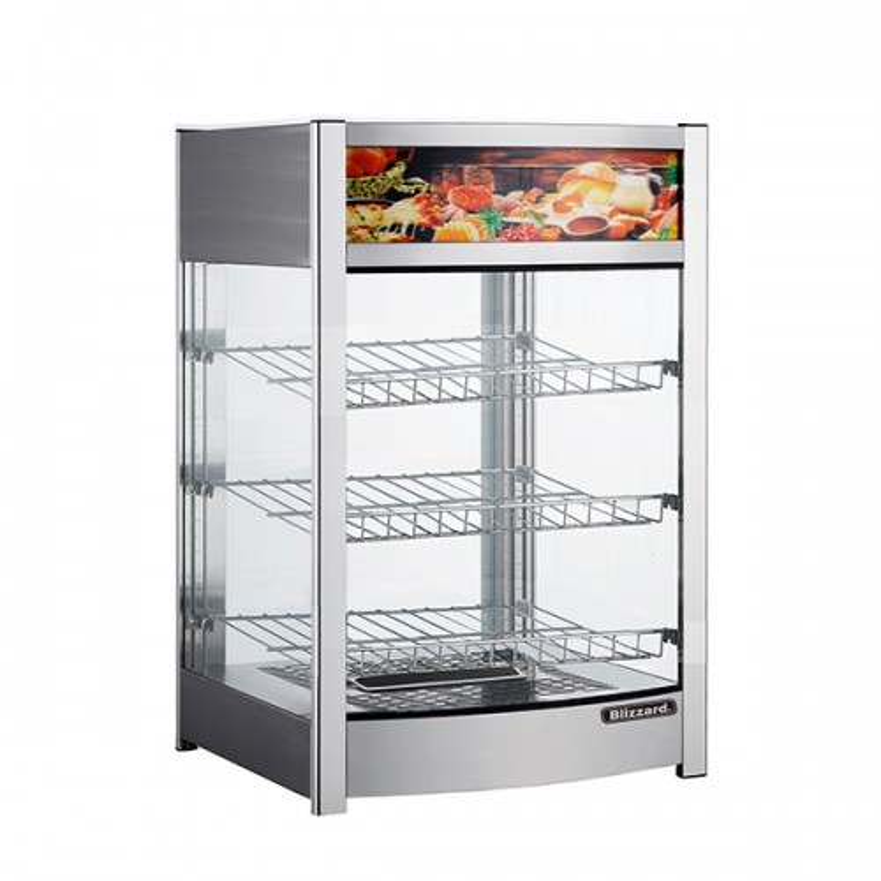 Counter Top Heated Merchandiser 137L