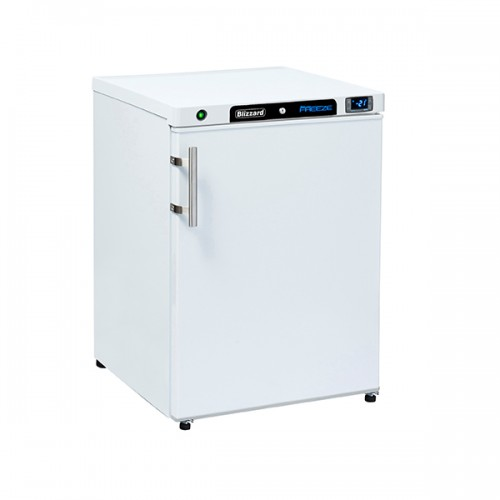 Under Counter White Laminated Freezer 170L