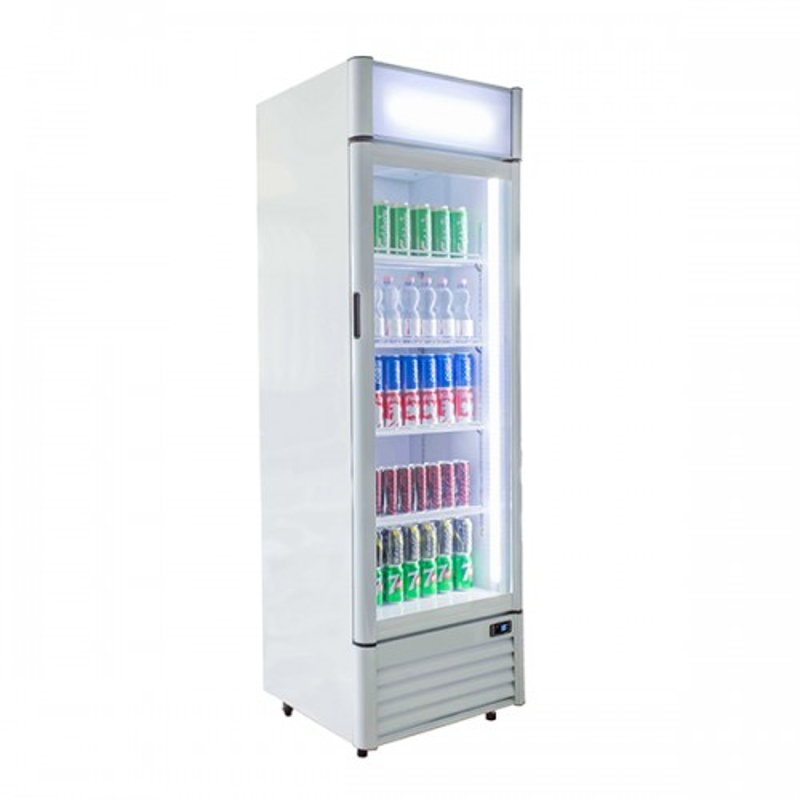 Single Door Drinks Merchandiser 386L