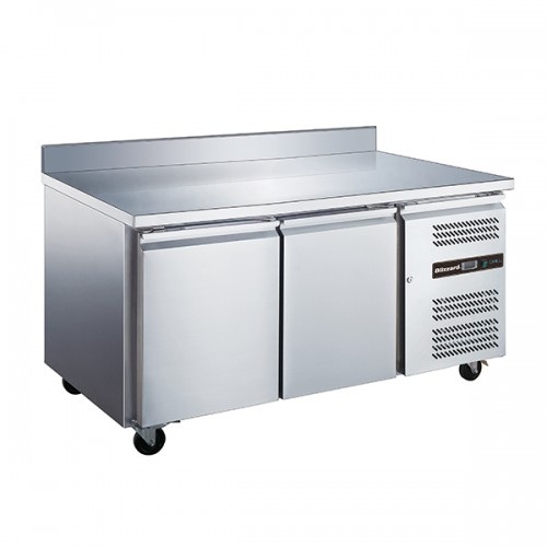 2 Door GN1/1 Counter with Upstand 282L