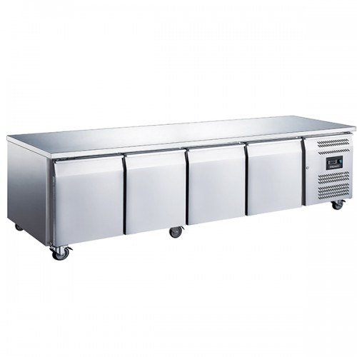 4 DOOR SLIMLINE 600MM DEPTH COUNTER 449L