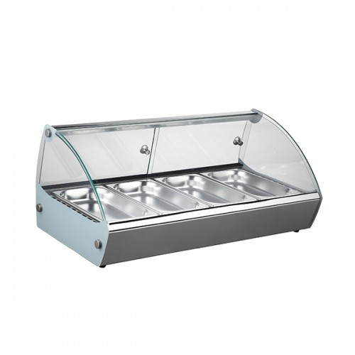 Counter Top Heated Merchandiser With 4x GN1/3 46L