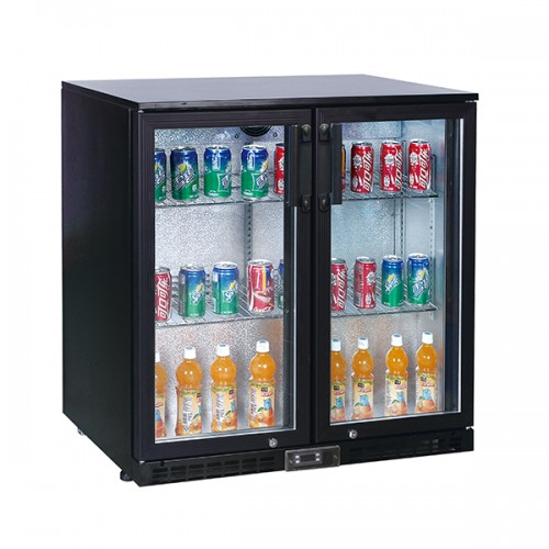 Double Door Bottle Cooler (196 Bottles)