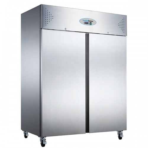 DOUBLE DOOR VENTILATED GN SS FREEZER 1200L