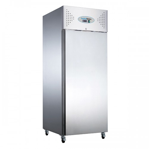 SINGLE DOOR VENTILATED GN SS REFRIGERATOR 600L