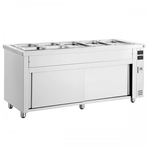 Gastronorm Bain Marie With Heated Base