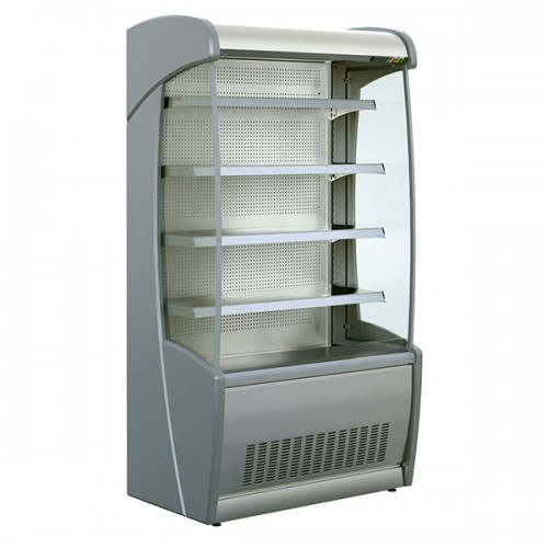 General Purpose and Fresh Meat Tiered Display Stainless Steel 620mm Depth