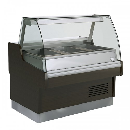 Curved Glass Bain Marie