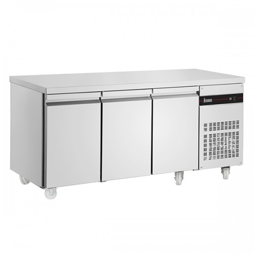 3 Door Slimline 600mm Depth Counter 353L