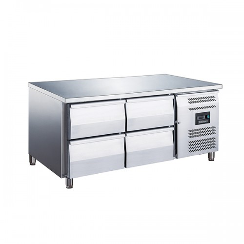 4 Drawer Low Height 650mm Snack Counter 214L