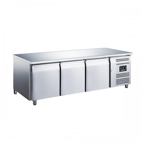 3 Door Low Height 650mm Snack Counter 317L