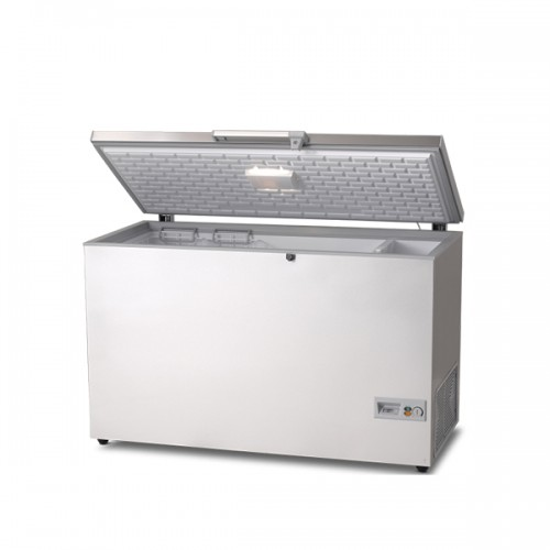 Chest Freezer WITH STAINLESS STEEL LID 370L