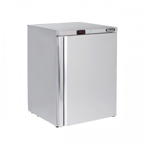 Under Counter Stainless Steel Freezer 115L