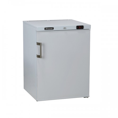 Under Counter White Laminated Refrigerator 145L
